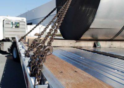 Paquete de arrastre de bobina estándar de 47,000 lb